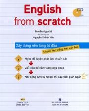 English from scratch - Xây dựng nền tảng từ đầu (kèm CD)