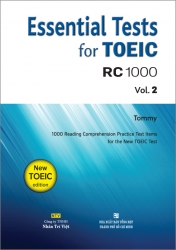 Essential Tests for TOEIC: RC 1000 Vol. 2