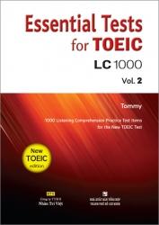 Essential Tests for TOEIC: LC 1000 Vol. 2 (kèm CD)