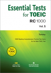 Essential Tests for TOEIC: RC 1000 Vol. 1