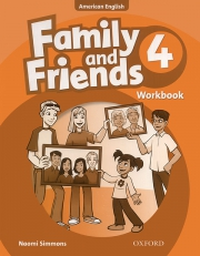 Family and Friends 4 - American English - Workbook
