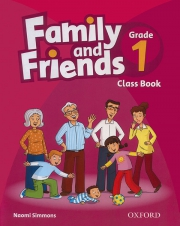 Family and Friends Grade 1 - Class Book