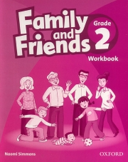 Family and Friends Grade 2 - Workbook
