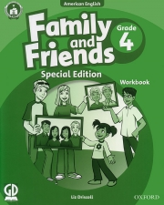 Family and Friends Special Edition Grade 4 - American English - Workbook