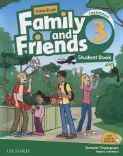 Family and Friends 3 - American English - 2nd edition - Student's Book