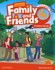Family and Friends 4 - American English - 2nd edition - Student's Book