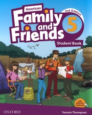 Family and Friends 5 - American English - 2nd edition - Student's Book