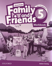 Family and Friends 5 - American English - 2nd edition - Workbook