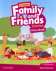 Family and Friends Starter - 2nd edition - Class Book