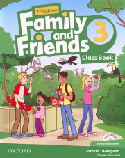 Family and Friends 3 - 2nd edition - Class Book