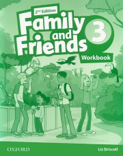 Family and Friends 3 - 2nd edition - Workbook