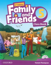 Family and Friends 5 - 2nd edition - Class Book