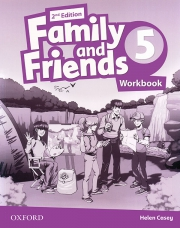 Family and Friends 5 - 2nd edition - Workbook