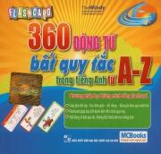 Flashcard 360 động từ bất quy tắc trong tiếng Anh tứ A-Z