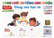 Flashcard Bảng chữ cái tiếng Anh diệu kỳ - Cùng con học vẽ