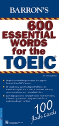 Flashcard Barron's 600 Essential Words for the TOEIC