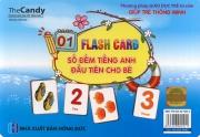 Flashcard Số đếm tiếng Anh đầu tiên cho bé