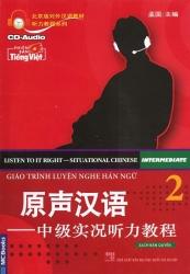 Giáo trình Luyện Nghe Hán ngữ tập 2 (kèm CD)