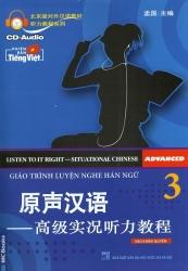 Giáo trình Luyện Nghe Hán ngữ tập 3 (kèm CD)