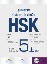 Giáo trình chuẩn HSK 5 - Tập 1 - Sách bài tập (kèm CD)