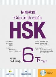 Giáo trình chuẩn HSK 6 - Tập 2 - Sách bài tập (kèm CD)