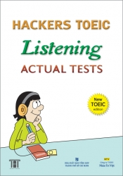 Hackers TOEIC Listening Actual Tests (kèm CD)