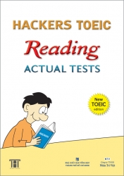 Hackers TOEIC Reading Actual Tests
