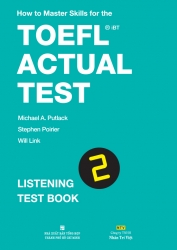 How to Master Skills for the TOEFL iBT Actual Test: Listening Test Book 2
