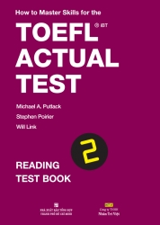 How to Master Skills for the TOEFL iBT Actual Test: Reading Test Book 2