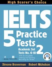 IELTS 5 Practice Tests - Academic Set 2
