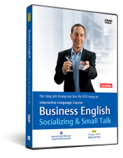 Interactive Language Course: Business English - Socializing & Small Talk (kèm CD)