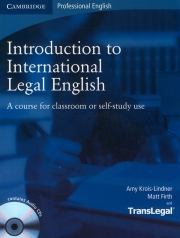 Introduction to International Legal English (kèm CD)