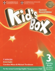 Kid's Box 3 - 2nd edition - Activity Book