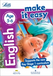 Letts Make it Easy – English Age 5-6