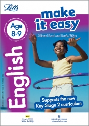 Letts Make it Easy – English Age 8-9