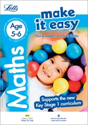 Letts Make it Easy – Maths Age 5-6