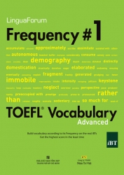 LinguaForum Frequency #1 TOEFL Vocabulary Advanced (kèm CD)
