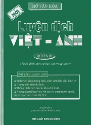 Luyện dịch Việt - Anh (Hồ Văn Hoà) tập 3