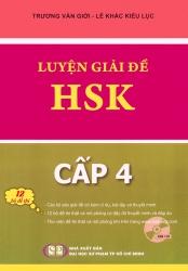 Luyện giải đề HSK - cấp 4