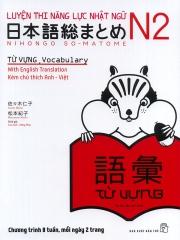 Luyện thi năng lực Nhật ngữ N2 - Từ vựng