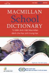Macmillan School Dictionary Anh - Việt (dành cho học sinh trung học)