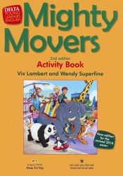 Mighty Movers - 2nd edition - Activity Book (kèm CD)