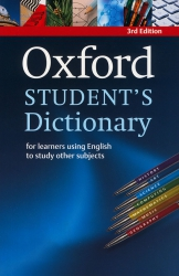 Oxford Student's Dictionary - 3rd edition