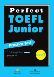 Perfect TOEFL Junior: Book 1 (kèm CD)