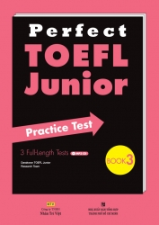 Perfect TOEFL Junior: Book 3 (kèm CD)