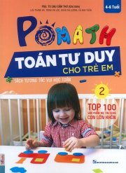 Pomath - Toán tư duy cho trẻ em - Tập 2