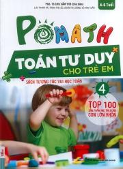 Pomath - Toán tư duy cho trẻ em - Tập 4