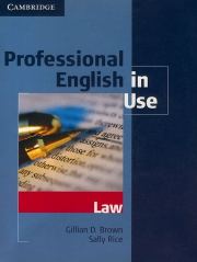 Professional English in Use - Law