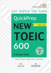 QuickPrep New TOEIC 600 - Volume 2 (kèm CD)