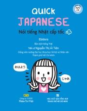 Quick Japanese - Nói tiếng Nhật cấp tốc (kèm CD)
